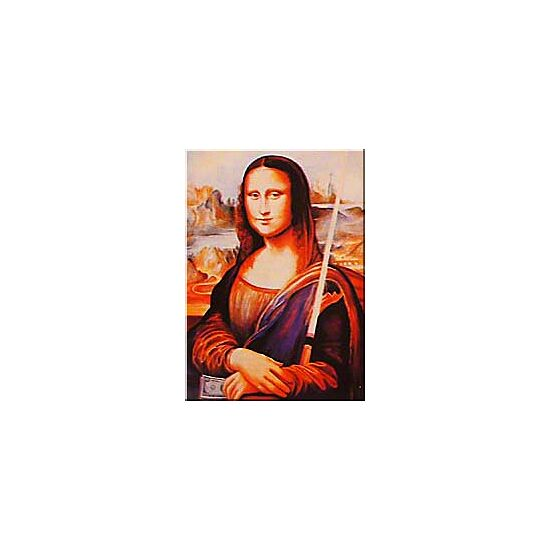 Billardposter Mona Lisa