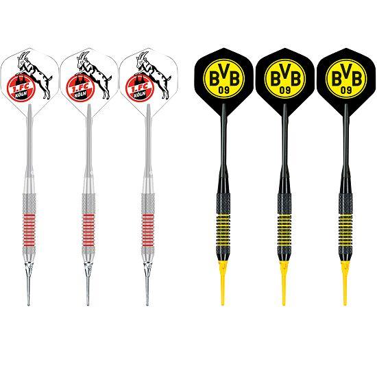 """Kings Dart® Softdart-Set """"Bundesliga"""" 1. FC Köln/Borussia Dortmund"""