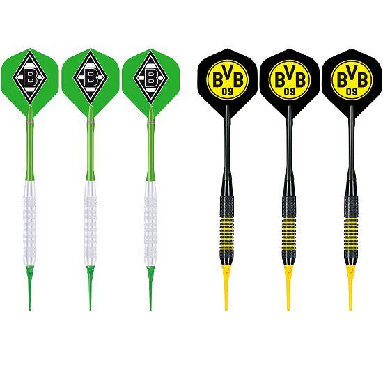 "Kings Dart® Softdart-Set ""Bundesliga"" Borussia Mönchengladbach/Borussia Dortmund"