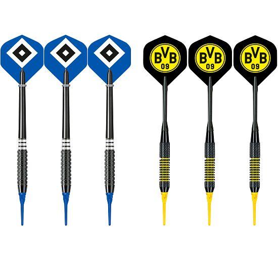 "Kings Dart® Softdart-Set ""Bundesliga"" Hamburger SV/Borussia Dortmund"