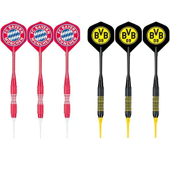 "Kings Dart® Softdart-Set ""Bundesliga"" FC Bayern München/Borussia Dortmund"
