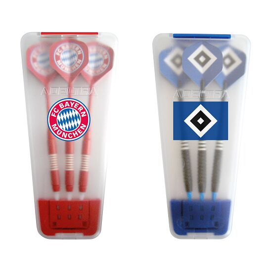 "Kings Dart® Softdart-Set ""Bundesliga"" in Turnierbox FC Bayern München/Hamburger SV"