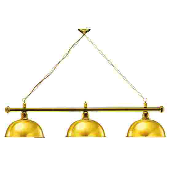 Automaten Hoffmann Billardlampe London 1 Gold, Messing & Rund