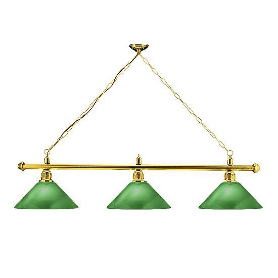 Automaten Hoffmann Billardlampe London Messing & Trichter, Grün, Trichter