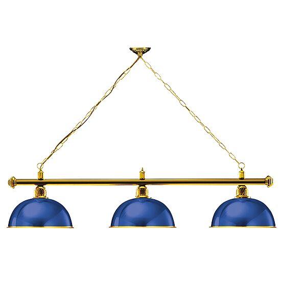Automaten Hoffmann Billardlampe London Messing & Rund, Blau, Rund