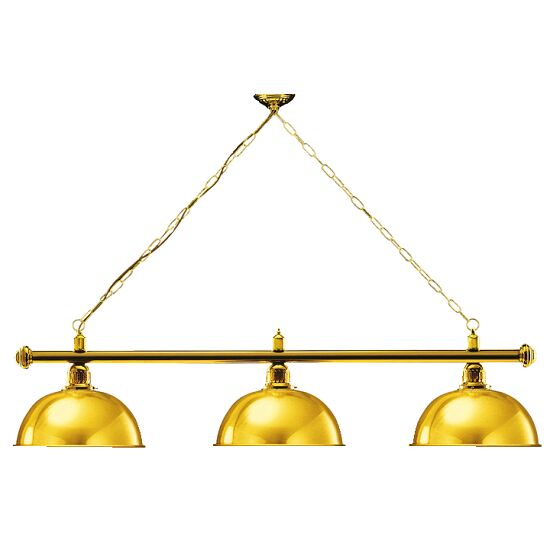 Automaten Hoffmann Billardlampe London Messing & Rund, Gold, Rund