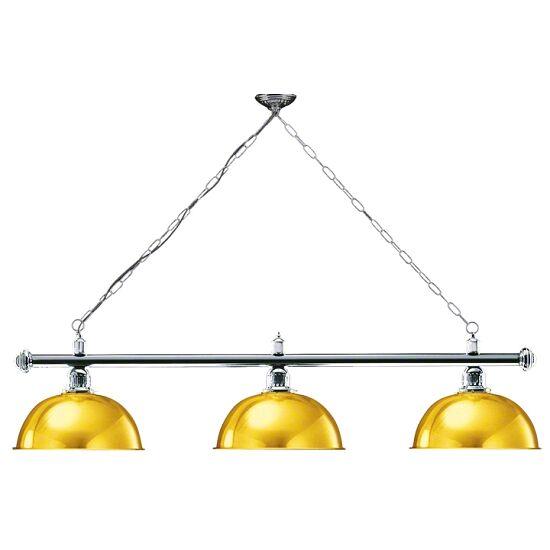 Automaten Hoffmann Billardlampe London Chrom & Rund, Gold, Rund