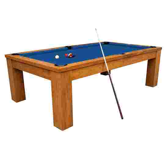 "Automaten Hoffmann Billardtisch ""Ambiente in Natur 8ft"" Simonis 860 Tournament-Blue"