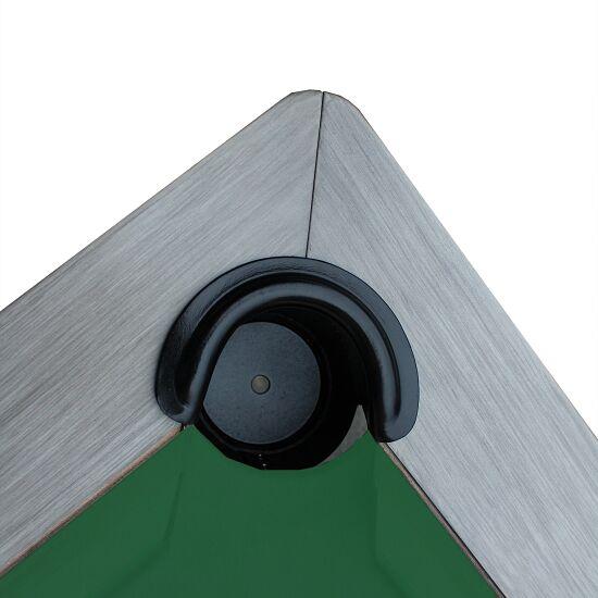 """Automaten Hoffmann Billardtisch """"Excellent"""" Modell 2020 7 ft (Spielfeld 198x99 cm), Anthrazit, Anti-Fleck Grün, Grau"""