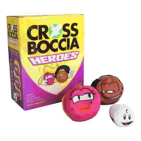 """Crossboccia Doublepack """"Heroes"""" Blond u. Muffin"""