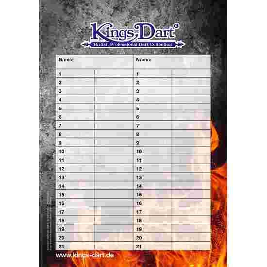 Kings Dart Dart Turnierblock A5