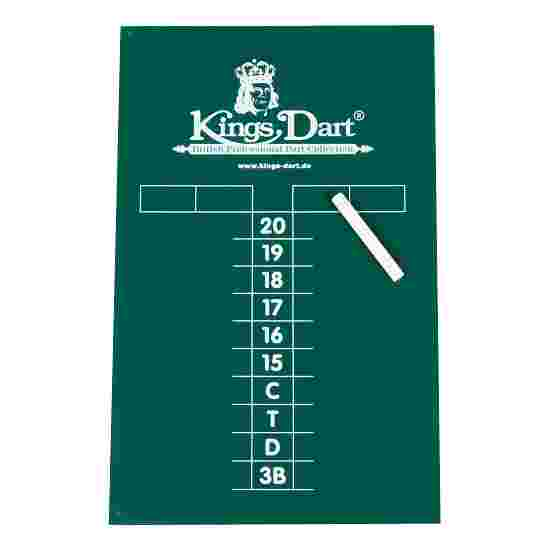 Kings Dart Kreidetafel
