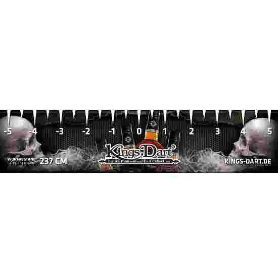 Kings Dart Turnier-Abwurflinie Skull