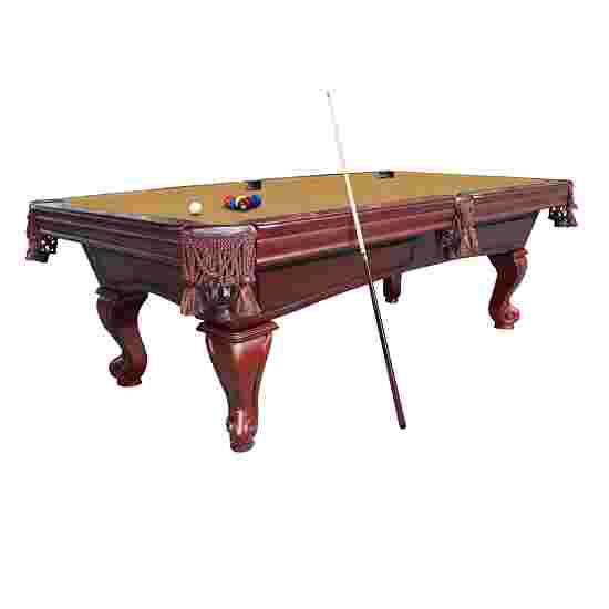 "Stradivari Billardtisch ""Windsor Classic in Nussbaum"" 8 ft (Spielfeld 224x112 cm), Simonis 860 Camel"
