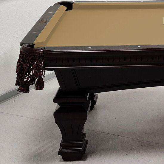 "Stradivari Billardtisch ""Windsor Modern in Mahagoni"" 9 ft (Spielfeld 254x127 cm), Simonis 860 Camel"