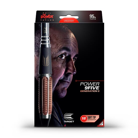 "Target Softdartpfeil ""Phil Taylor Power 9 Five Gen 5"" 18 g"