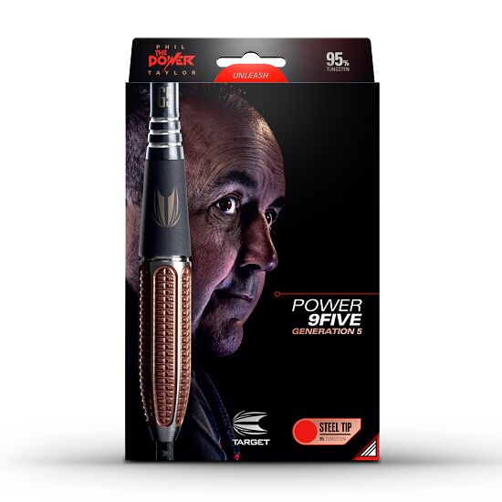 "Target Steeldartpfeil ""Phil Taylor Power 9 Five Gen 5"" 22 g"