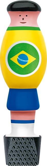 """Automaten Hoffmann Kickerfigur """"Nationalmannschaft"""" Brasilien, 11er Set"""