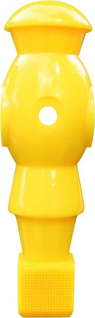"""Automaten Hoffmann Kickerfigur """"Golden Goal"""" mit Gewichtsausgleich im Kopf Gelb"""