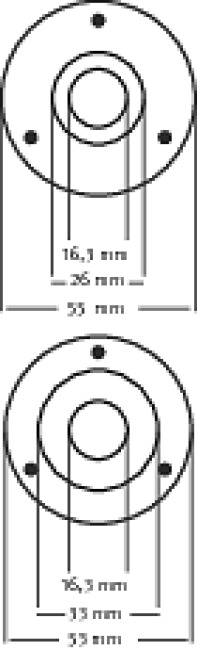 Automaten Hoffmann Universal-Gleitlager Aussenrosette