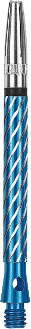Kings Dart® Schaft mit drehbarer Spitze Medium = 45 mm, Blau