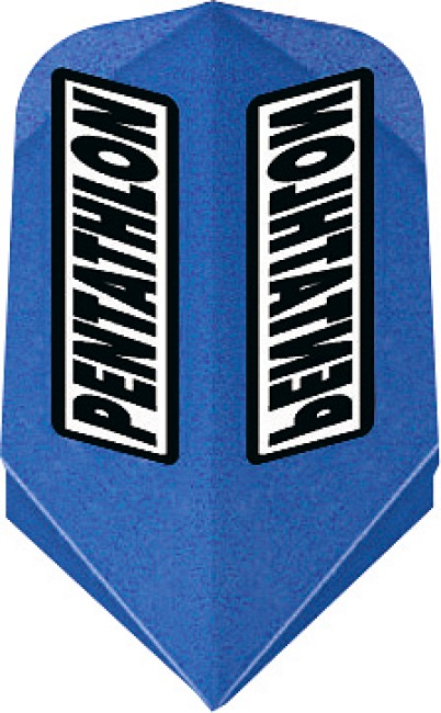 "Pentathlon Flight ""Professional"" Slim, Blau"