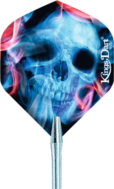 "Kings Dart® Dart Flight ""HD 150"" Demon Skull"