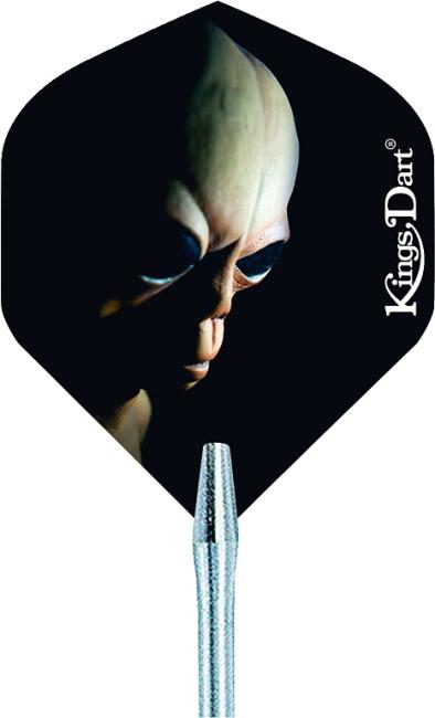"""Kings Dart® Dart Flight """"HD 150"""" Dark Skull"""
