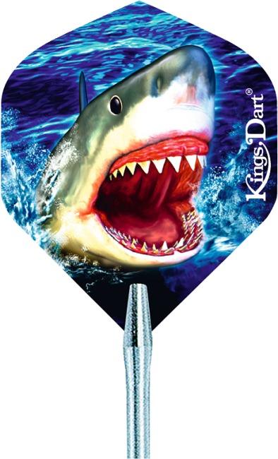 """Kings Dart® Dart Flight """"HD 150"""" Shark"""