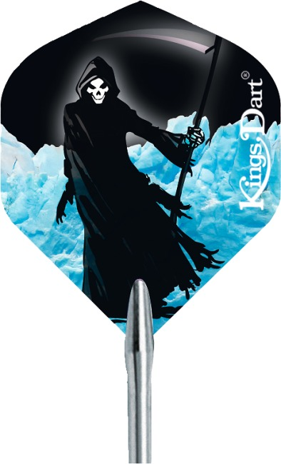 "Kings Dart® Flight ""HD 100"" Black Death"