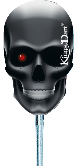 "Kings Dart® Dart Flight ""Totenkopf"" T2103"