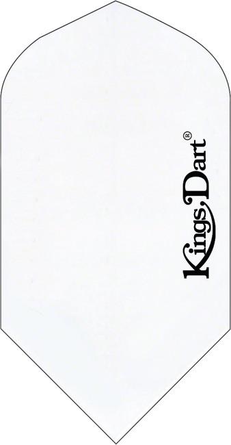 """Kings Dart® Flights """"Uni"""" Weiß, Full"""