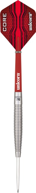 "Unicorn® Steeldartpfeil ""Core XL T90"" 25 g, Torpedoform"