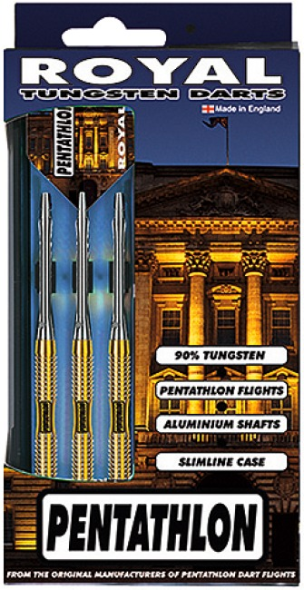 "Pentathlon® Steeldartpfeil ""Royal"" 23 g"
