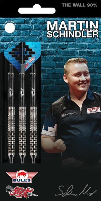 """Bull's NL Softdartpfeil """"Martin Schindler The Wall 90 % Match Dart"""" 18 g"""