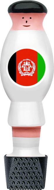 """Automaten Hoffmann Kickerfigur """"Nationalmannschaft"""" Afghanistan"""