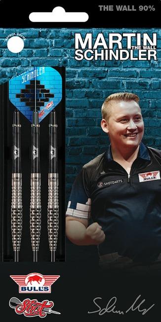 """Bull's NL Steeldartpfeil """"Martin Schindler The Wall 90% Match Dart"""" 23 g"""