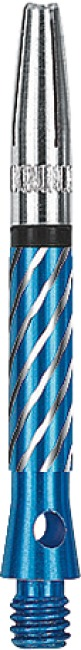 Kings Dart Schaft mit drehbarer Spitze Short = 35 mm, Blau