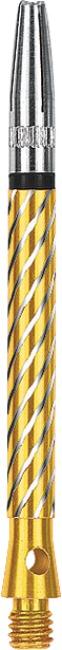 Kings Dart Schaft mit drehbarer Spitze Medium = 45 mm, Gold