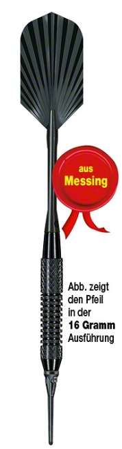 "Kings Dart Softdartpfeil ""Black Star"" 16 g"