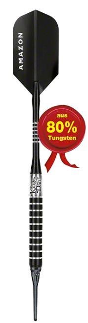 "Kings Dart Softdartpfeil ""Black Torpedo"" 14 g"