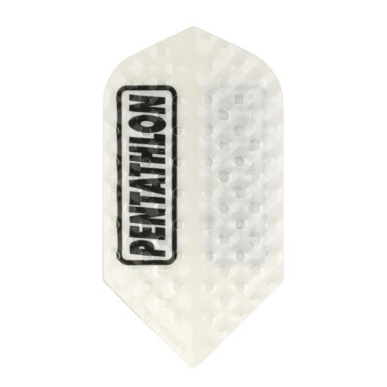 "Pentathlon Flight ""Professional Dimple"" Slim, Weiß"