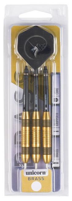 "Unicorn Steeldartpfeil Core ""Brass Steel"" 21 g"
