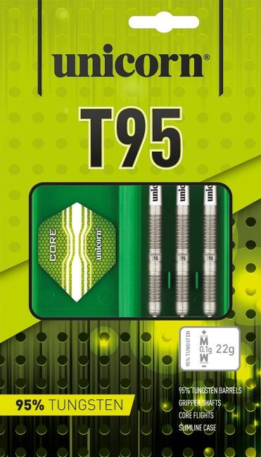 "Unicorn Steeldartpfeil ""Core XL T95"" 22 g"