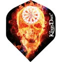 "Kings Dart® Flight ""HD 100"" Burning Skull"