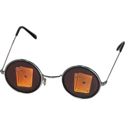 Pokerbrille blickdicht