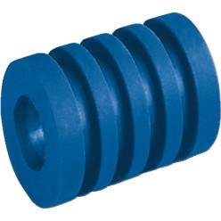 Rückstoß-Stangenpuffer lang (40 mm) Blau
