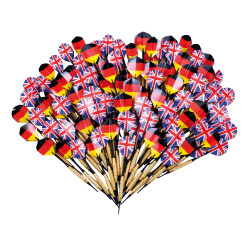 "Kings Dart® Softdartpfeile-Set ""Turnier DE/GB"""