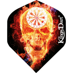 "Kings Dart® Flight ""Burning Skull"""