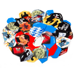 "Kings Dart® Dart Flights ""Sparpaket"""